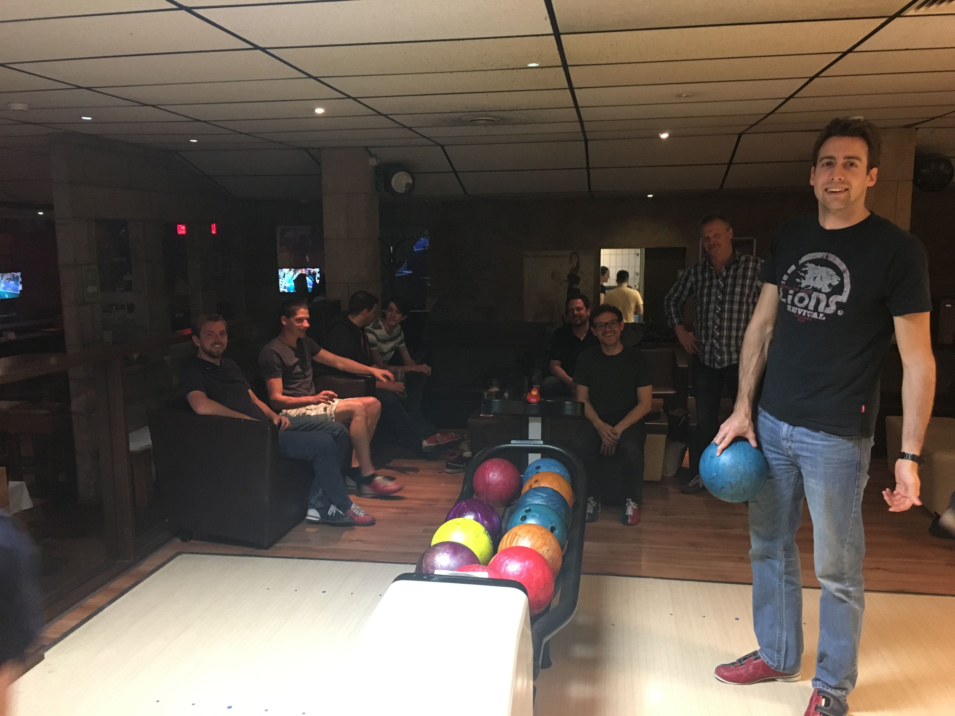 SE geht Bowling